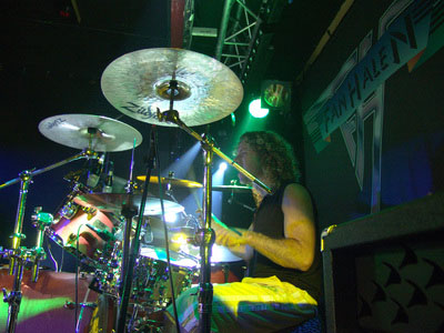 Fan Halen Drummer Roni van Eswijk. Photo by Gerard Rappard (DGR Productions)